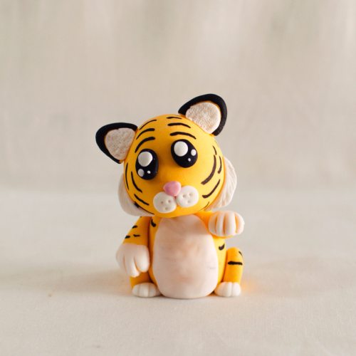 Baby Tiger Fondant Topper