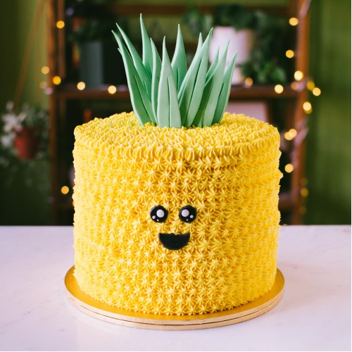 Happy Pineapple Cake